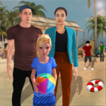 Virtual Family Summer Vacations Fun Adventures (MOD, Unlimited Money)