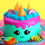🎂 Cake maker – Unicorn Cooking Games for Girls 🌈 (MOD, Unlimited Money)