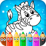 Coloring pages for children: animals  1.1.3