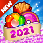 Fast Food 2020 New Match 3 Free Games Without Wifi (MOD, Unlimited Money)