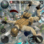 Real Commando Fire Ops Mission: Offline FPS Games (MOD, Unlimited Money)