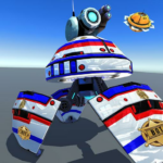 US Police Robot Shooting Crime City Game (MOD, Unlimited Money)