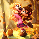 Puppy Diary: Popular Epic match 3 Casual Game 2021 (MOD, Unlimited Money)