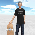 Skate Space (MOD, Unlimited Money)