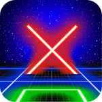 Tic Tac Toe Glow by TMSOFT (MOD, Unlimited Money)