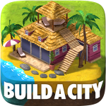 Town Building Games: Tropic City Construction Game (MOD, Unlimited Money)